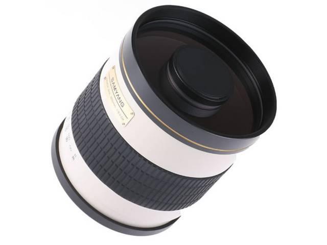 Objectif photo samyang 800 mm f 8 mc if miroir monture t2 for Objectif a miroir