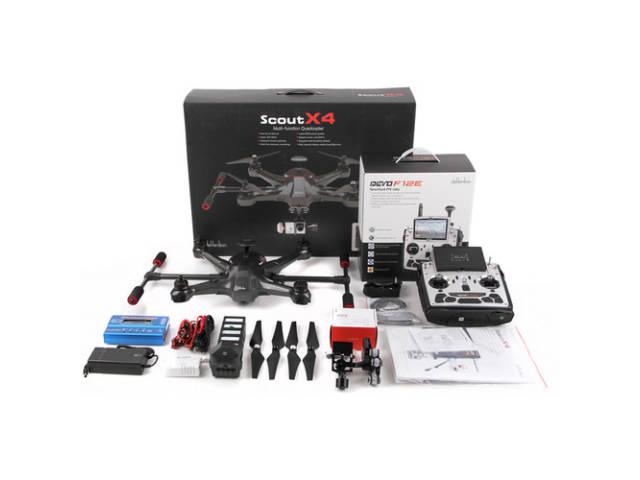 walkera drone scout x4 pour cam ra d 39 action gopro. Black Bedroom Furniture Sets. Home Design Ideas