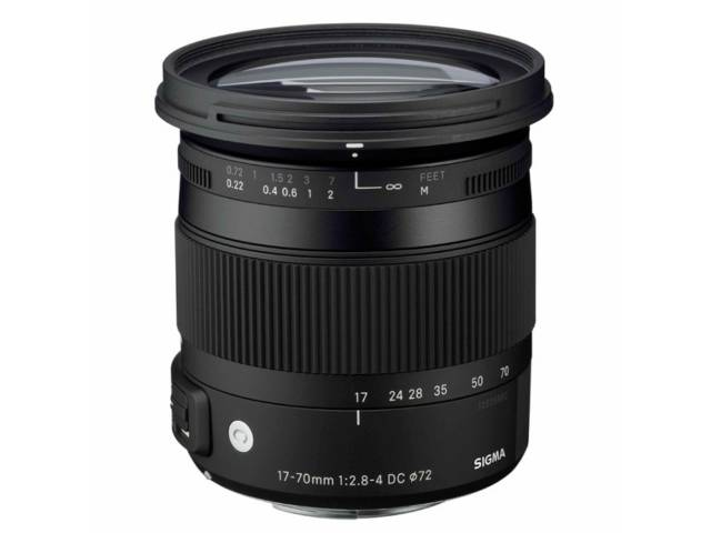 objectif photo SIGMA 17-70 mm f/2.8-4 DC MACRO OS HSM monture CANON