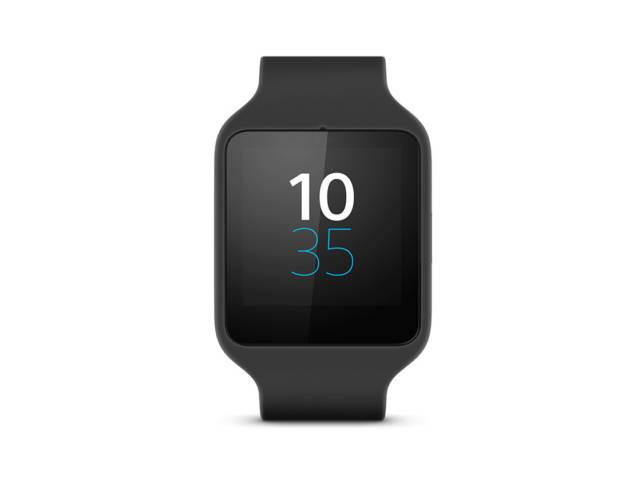 montre connect e sony smartwatch 3 noire. Black Bedroom Furniture Sets. Home Design Ideas