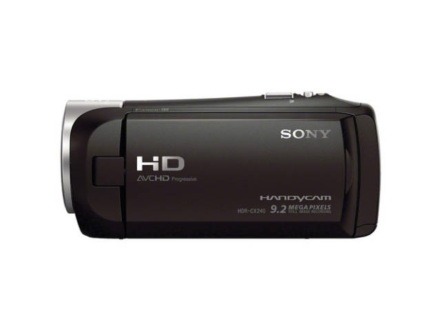 sony cam scope full hd hdr cx240e. Black Bedroom Furniture Sets. Home Design Ideas