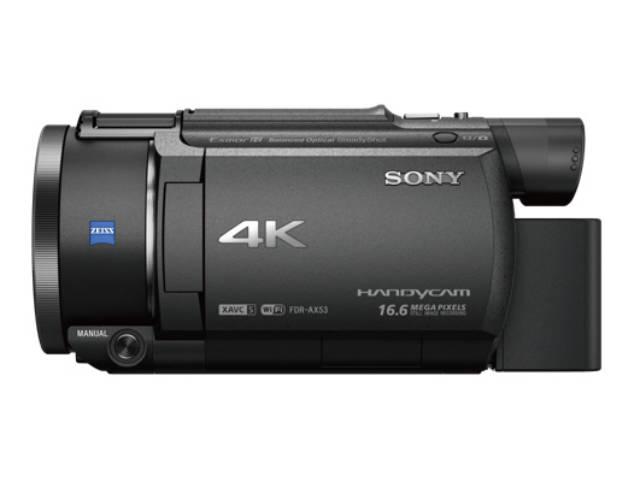 sony cam scope 4k fdr ax53. Black Bedroom Furniture Sets. Home Design Ideas