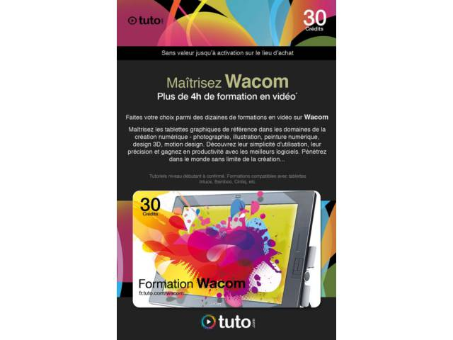 tuto formation wacom. Black Bedroom Furniture Sets. Home Design Ideas