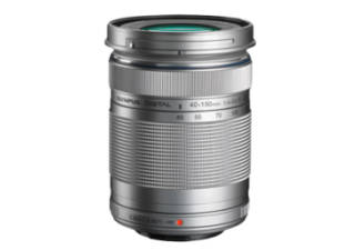 OLYMPUS 40-150 mm f/4.0-5.6 ED Zuiko digital R gris objectif photo