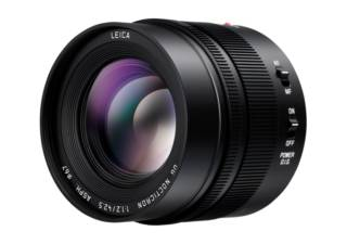 PANASONIC Leica DG Nocticron 42.5 mm f/1.2 ASPH Power OIS noir objectif photo