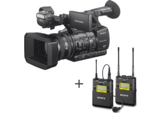 SONY caméscope compact HXR-NX5R Full HD + SONY UWP-D11 K42 ensemble UHF micro cravate omnidirectionnel