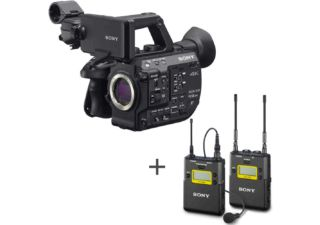 Sony PXW-FS5 II caméscope 4K Super 35 Exmor sensor + SONY UWP-D11 K42 ensemble UHF micro cravate omnidirectionnel