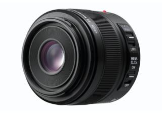 PANASONIC Leica DG Elmarit 45 mm f/2.8 ASPH Mega Macro OIS noir objectif photo