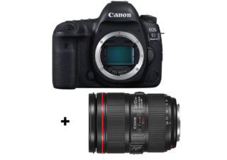 Canon EOS 5D mark IV + objectif Canon EF 24-105 mm f/4L IS II USM