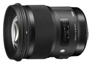 SIGMA ART 50 mm f/1.4 DG HSM monture SONY objectif photo
