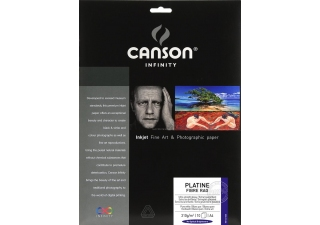 CANSON Infinity Platine Fibre Rag 310g A4 10 feuilles
