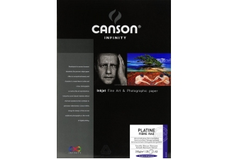 CANSON Infinity Platine Fibre Rag 310g A3 25 feuilles
