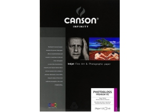 CANSON Infinity PhotoGloss Premium RC papier photo brillant 270g A3 25 feuilles
