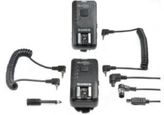KAISER kit télécommande radio boitiers & déclencheur flashes MultiTrig AS 5.1