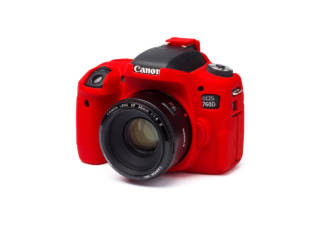 EASY COVER housse de protection pour CANON 760D rouge
