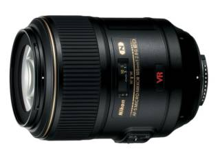 NIKON AF-S VR Micro 105 mm f/2.8G IF ED objectif photo