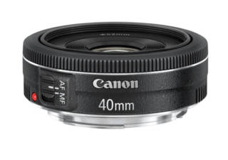 CANON EF 40 mm f/2.8 STM objectif photo pancake