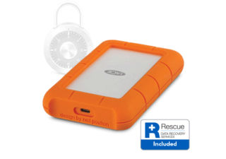 LACIE Rugged Secure USB-C Disque dur 2To