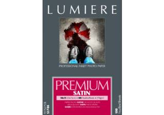 LUMIERE papier photo PREMIUM RC SATIN A6 100F 270gr