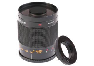Samyang objectif photo 500 mm f 8 mc if miroir monture t2 for Objectif a miroir pour nikon