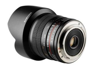 SAMYANG 10 mm f/2.8 ED AS NCS CS monture CANON objectif photo