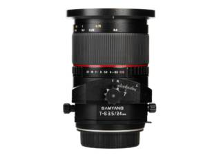 SAMYANG T-S 24 mm f/3.5 ED AS UMC monture SONY A objectif photo