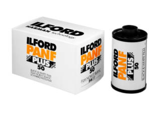 ILFORD film noir & blanc 135 PAN F PLUS 36 poses