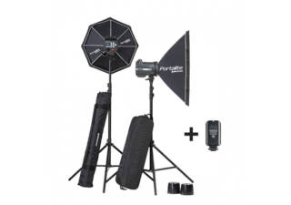 ELINCHROM kit flash de studio Compact BRX 500 Box