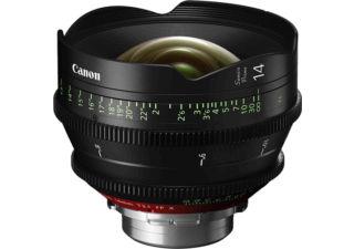 Canon Sumire Prime CN-E14mm T/3.1 FP X monture PL objectif cinéma