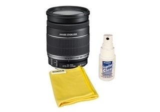 CANON EF-S 18-200 mm IS f/3.5-5.6 + KAISER kit de nettoyage (6662)