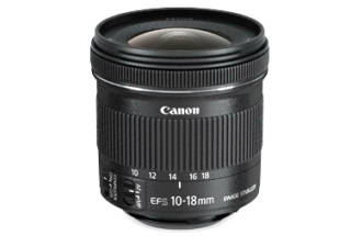 CANON EF-S 10-18mm f/4.5-5.6 IS STM objectif photo