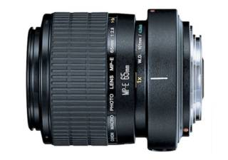 CANON MP-E 65mm f/2.8 Macro 1-5x objectif photo