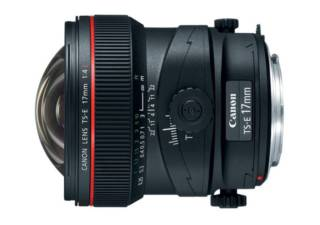 CANON TS-E 17 mm f/4L objectif photo