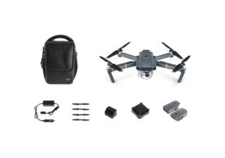 DJI pack drone 4K Mavic Pro Fly More Combo