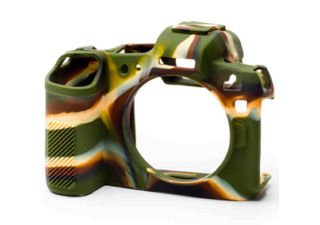 EASY COVER coque en silicone pour Fuji X-T3 camouflage