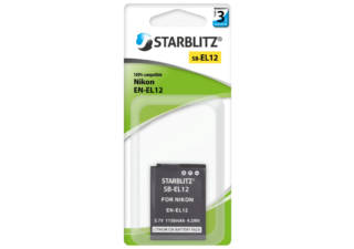 STARBLITZ batterie photo compatible Canon NB-13L