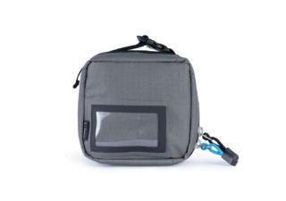 F-Stop Gargoyle Black Zipper pochette d'accessoires small gris