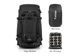 F-Stop Tilopa v3 Essentials Bundle anthracite noir kit sac à dos photo