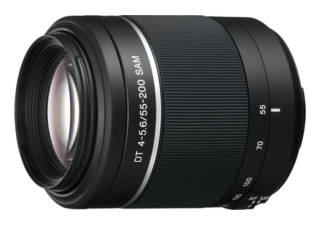 SONY DT 55-200 mm f/4-5.6 SAM monture Sony A objectif photo
