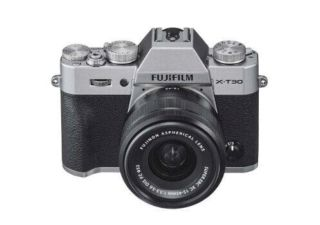Fujifilm kit hybride X-T30 silver + XC 15-45 mm OIS PZ objectif photo