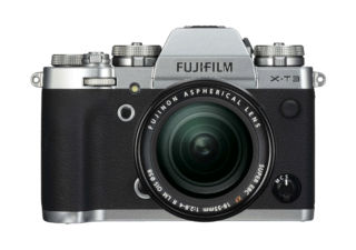 FUJIFILM kit X-T3 compact hybride argent + 18-55 mm objectif photo