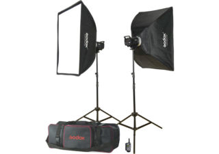Godox MS300-F kit flash 2 torches 300 Ws