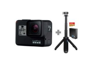Gopro Pack Hard Bundle Hero 7 Black + 3 accessoires
