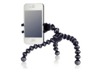 JOBY GripTight ONE GP Stand Fixation + pied Gorillapod pour smartphone