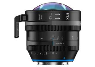 Irix ciné 11mm t/4.3 monture Canon RF objectif vidéo