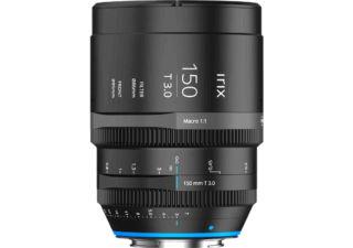 Irix 150mm macro 1:1 T/3.0 monture EF objectif vidéo