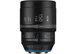 Irix ciné 150mm T3.0 monture Canon RF objectif vidéo