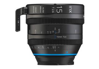 Irix ciné 15mm T2.6 monture Canon RF objectif vidéo