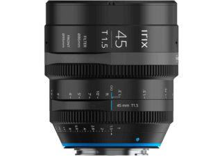 Irix ciné 45mm T1.5 monture Leica L objectif vidéo