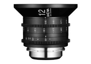 Laowa 12mm t/2.9 Zero-D Cine monture PL optique vidéo